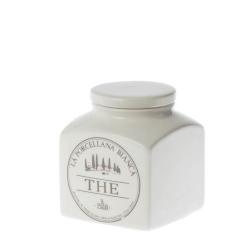 Conserva, Barattolo ceramica Lt. 0,5 the - La Porcellana Bianca