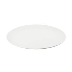 Convivio, Vassoio rotondo coupe Cm. 40 - La Porcellana Bianca