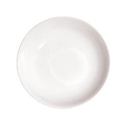 Corte, Piatto piano coupe Cm. 25 - La Porcellana Bianca