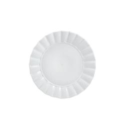 Ducale, Piatto frutta Cm. 20 - La Porcellana Bianca