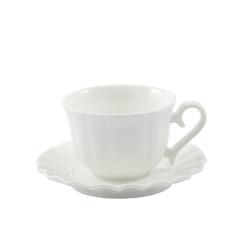 Ducale, Tazza caffe' c/p Ml. 80 - La Porcellana Bianca