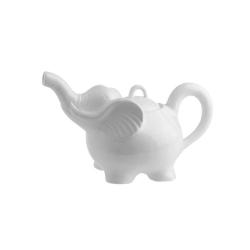 Elefanti, teiera elefante Ml. 750 - La Porcellana Bianca