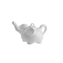 Elefanti, zuccheriera elefante Ml. 200 - La Porcellana Bianca