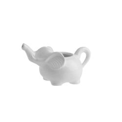 Elefanti, lattiera elefante Ml. 200 - La Porcellana Bianca
