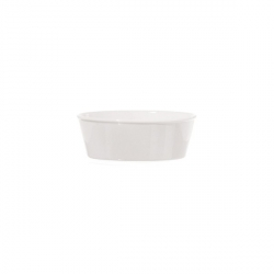 Fiesole, Teglia ovale Cm. 15x10,5x5,5 - La Porcellana Bianca