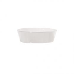 Fiesole, Teglia ovale Cm. 19x13,5x6 - La Porcellana Bianca
