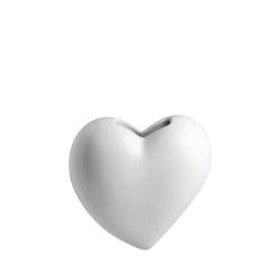 Leopoldina, Umidificatore cuore Cm. 18 - La Porcellana Bianca