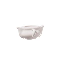 Menage, Salsiera grasso/magro Cm. 17 - La Porcellana Bianca