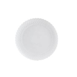 Momenti, Piatto frutta Cm. 20 - La Porcellana Bianca