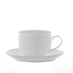 Momenti, Tazza te' c/p Ml. 200 - La Porcellana Bianca