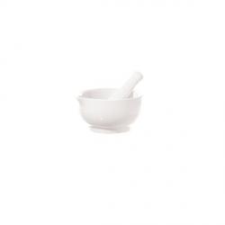 Preparazione, Mortaio c/pestello Cm. 11,5 - La Porcellana Bianca