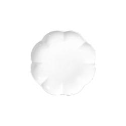Villadeifiori, Piatto dolce Cm. 19 - La Porcellana Bianca