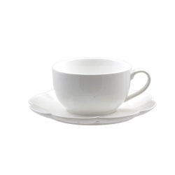 Villadeifiori, Tazza colazione c/p Ml. 420 - La Porcellana Bianca