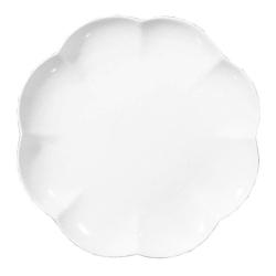 Villadeifiori, Vassoio rotondo Cm. 31 - La Porcellana Bianca