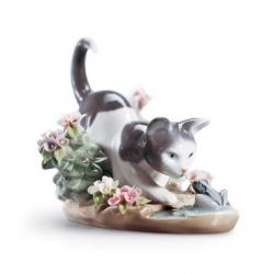 Il gatto e la rana - Lladrò