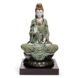Kwan yin (verde) - Lladrò