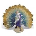 Angelo con pavone reale - Lladrò