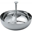 Contenitore per bustine di tè o di zucchero a tre scomparti - Alessi