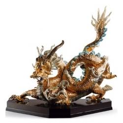 Ggran dragone (oro) - Lladrò