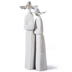 Coppia monache - Lladrò
