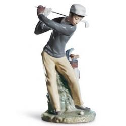 Giocatore golf - Lladrò