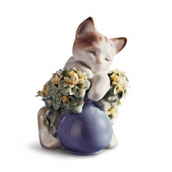 Gattino sognatore - Lladrò