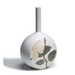 Canvas vase flower twig - Lladrò