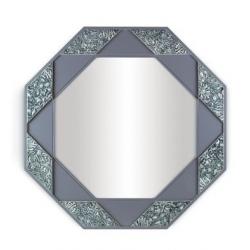 Specchio ottagonale (azzurro) - Lladrò