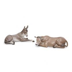 Set animali da presepe (porcellana - Lladrò