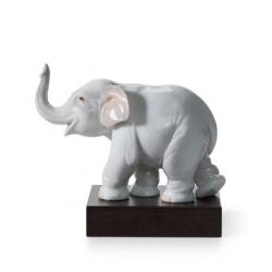 Elefante portafortuna - Lladrò