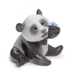 Panda contento - Lladrò