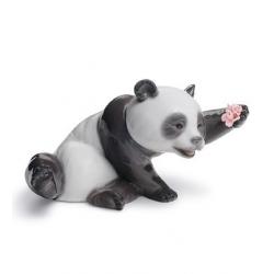 Panda gioviale - Lladrò