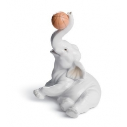 Elefante basket - Lladrò