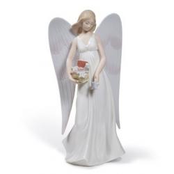L'angelo della neve (puntale albero) - Lladrò