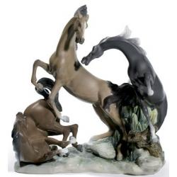 Gruppo cavalli - Lladrò
