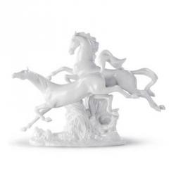 Cavalli (bianco) - Lladrò