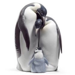 Famiglia di pinguini - Lladrò