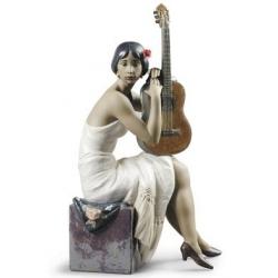 Suonatrice di flamenco - Lladrò