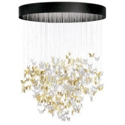 Niagara chandelier 2m oro (ce/uk) - Lladrò