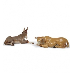 Set animali da presepe (gres) - Lladrò