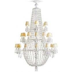 Winter palace chand 30 lampade, bianco - Lladrò