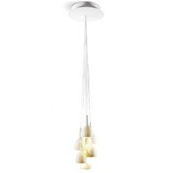 Naturo - lampadario bianca 6 lampade - Lladrò