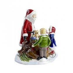 Christmas Toys Babbo Natale con bambini - Villeroy & Boch