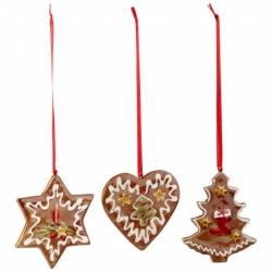 Nostalgic Ornaments Orn. Panpepato, set 3 pz. - Villeroy & Boch