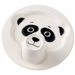 Animal Friends Piatto c/mug, panda - Villeroy & Boch
