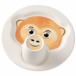 Animal Friends Piatto c/mug, scimmia - Villeroy & Boch