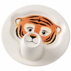 Animal Friends Piatto c/mug, tigre - Villeroy & Boch