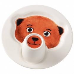 Animal Friends Piatto c/mug, orso - Villeroy & Boch