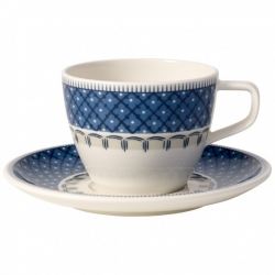 Casale Blu Tazza caffe c.piat.2pezzi - Villeroy & Boch