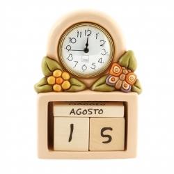 Calendario perpetuo con orologio Country - Thun